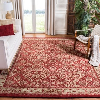 Safavieh Handmade Anatolia Matie Traditional Oriental Hand-spun Wool Rug