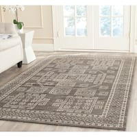 Safavieh Hand-knotted Kenya Grey Wool Rug - 8' x 10'