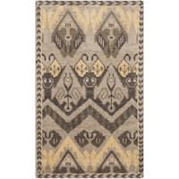 Safavieh Hand-knotted Kenya Gold/ Beige Wool Rug - 3' x 5'