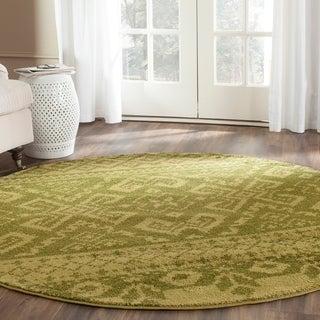 Safavieh Adirondack Green/ Dark Green Rug (8' Round)
