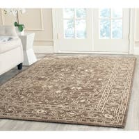 Safavieh Hand-knotted Kenya Brown/ Beige Wool Rug - 9' x 12'
