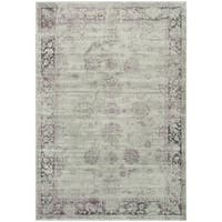 Safavieh Vintage Oriental Grey/ Amethyst Distressed Silky Viscose Rug - 8'10 x 12'2