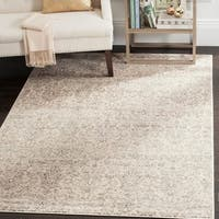 Safavieh Vintage Damask Ivory/ Grey Distressed Rug - 9' x 12'