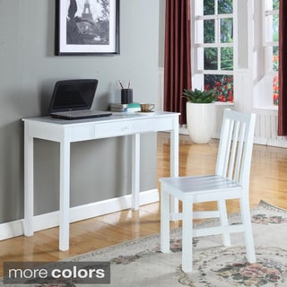 Contemporary Wood Writing Desk