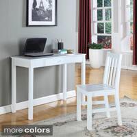 Contemporary Wood Writing Desk