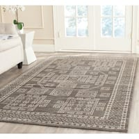 Safavieh Hand-knotted Kenya Grey Wool Rug - 5' x 8'