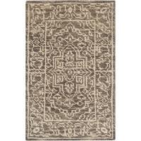 Safavieh Hand-knotted Kenya Brown/ Beige Wool Rug - 2' x 3'