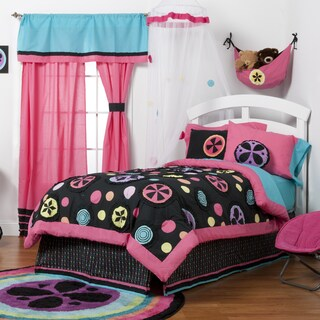 Magical Michayla Cotton 4-piece Comforter Set
