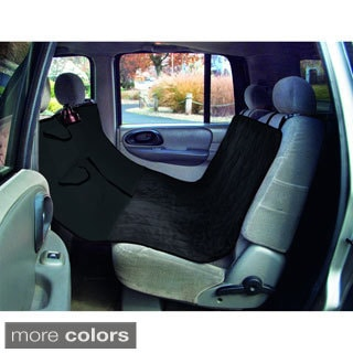 Quilted Suede Hammock Style Pet Car Seat Cover