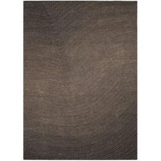 Grey Artistry Waves Rug (5' x 7')