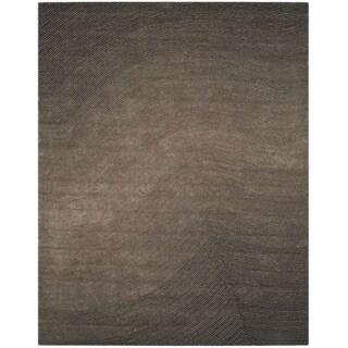 Grey Artistry Waves Rug (8' x 10')