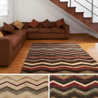 Meticulously Woven Early Chevron Are