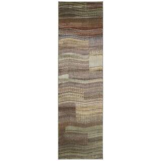 Nourison Somerset Aqua Rug (2'3 x 8')