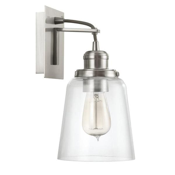 Beautiful Capital Lighting Urban Collection 1 Light Brushed Nickel Wall Sconce