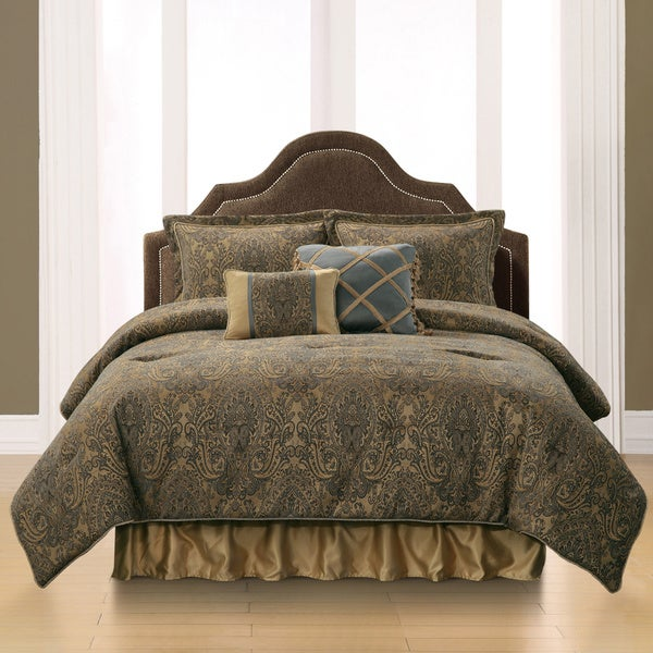 Briley 6-piece Floral Comforter Set