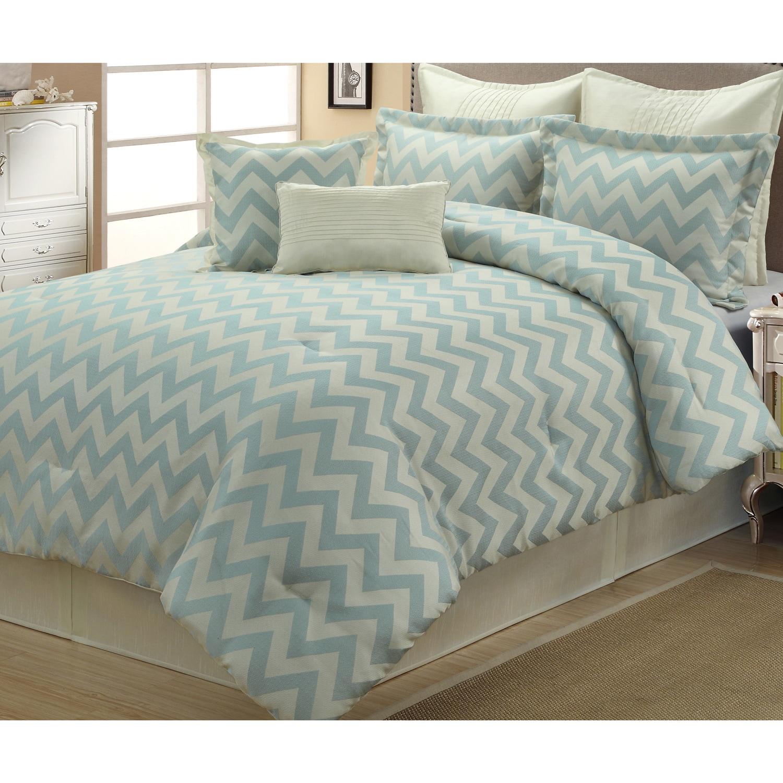 Kimber Geometric 8 Piece Comforter Set Overstock 9368796