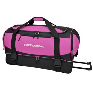 Pacific Gear by Traveler's Choice Gala 30-inch Drop Bottom Rolling Upright Duffel Bag