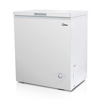Midea WHS-185C1 Single Door 5.0 cubic-foot Chest Freezer
