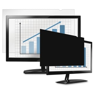 "Fellowes PrivaScreen Blackout Privacy Filter - 21.5"" Wide Black"