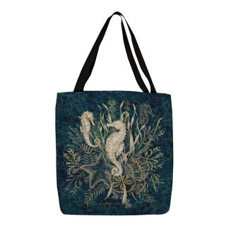 Thumbprintz Sea Horse Vignette Printed Tote