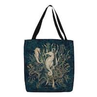 Sea Horse Vignette Printed Tote
