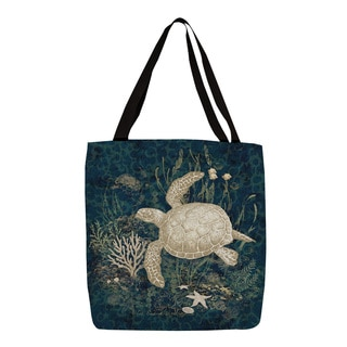 Thumbprintz Sea Turtle Vignette Printed Tote