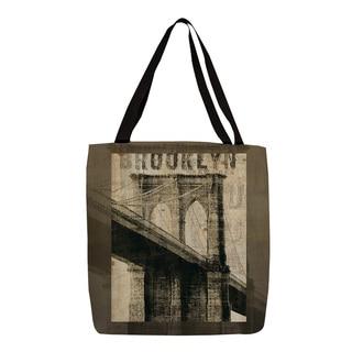 Thumbprintz Vintage NY Brooklyn Print Tote