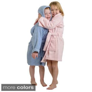 Superior Collection Luxurious Cotton Kids Hooded Bath Robe (Option: Blue)|https://ak1.ostkcdn.com/images/products/9370416/P16561528.jpg?impolicy=medium