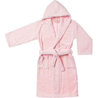 Superior Collection Luxurious Cotton Unisex Kids Hooded Bath Robe