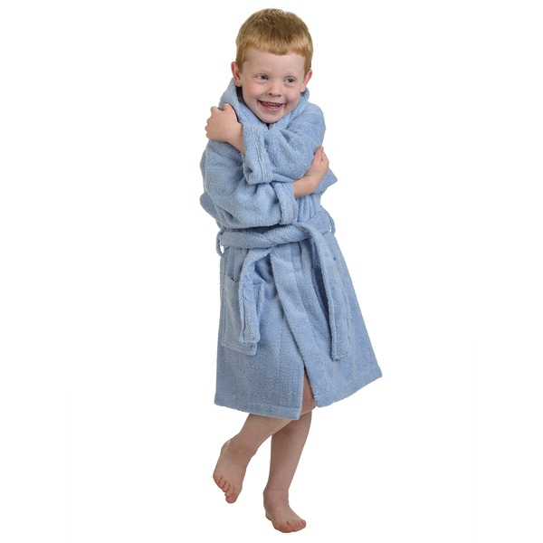 Superior Collection Luxurious Cotton Kids Hooded Bath Robe. Opens flyout.
