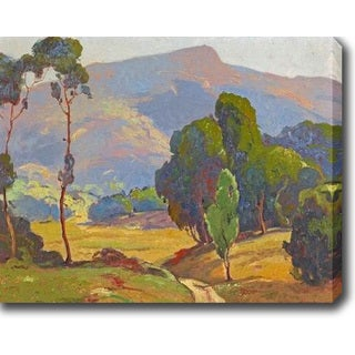 The Hills' Oil on Canvas Art