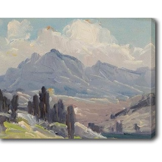 The Mountain' Oil on Canvas Art