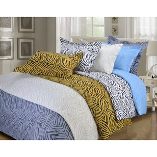 Superior Wrinkle Resistant Animal Print Microfiber Duvet Cover Set (More options available)