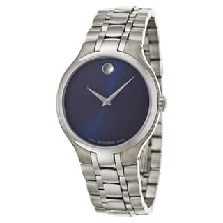 Movado Men's 0606369 'Collection' Stainless Steel Swiss Quartz Watch|https://ak1.ostkcdn.com/images/products/9370882/P16562058.jpg?impolicy=medium