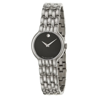 Movado Women's 606338 'Veturi' Stainless Steel Swiss Quartz Watch