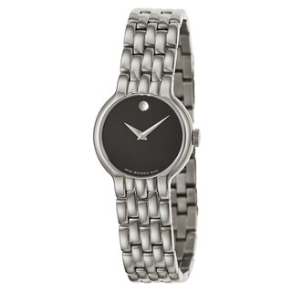 Movado Women's 606338 'Veturi' Stainless Steel Swiss Quartz Watch