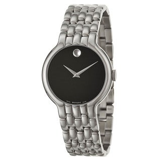 Movado Men's 0606337 'Veturi' Stainless Steel Swiss Quartz Watch
