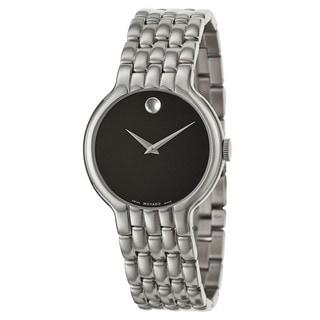 Movado Men's 0606337 'Veturi' Stainless Steel Swiss Quartz Watch