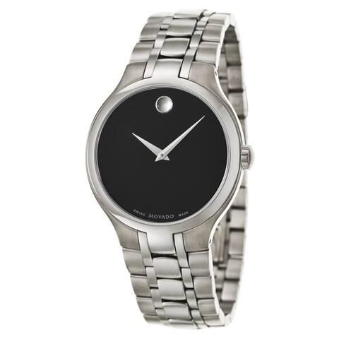 Movado 0606367 Men's Museum Black Quartz Watch