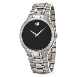 Movado Men's 0606367 'Collection' Stainless Steel Swiss Quartz Watch|https://ak1.ostkcdn.com/images/products/9370902/P16562065.jpg?impolicy=medium