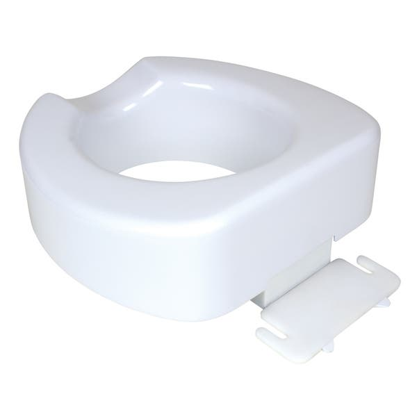 Groovy Shop Carex Quick Lock Raised Toilet Seat Free Shipping On Short Links Chair Design For Home Short Linksinfo