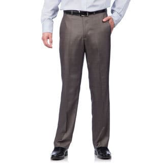 Kenneth Cole Crème Label Men's Slim Fit Grey Suit Separates Pants