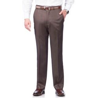 Kenneth Cole Crème Label Men's Slim Fit Brown Suit Separates Pants