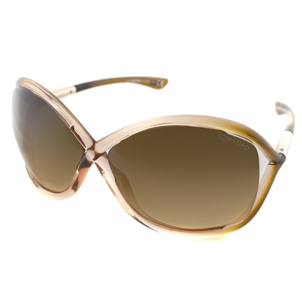 b7361fb773 Shop Tom Ford Women s  Whitney TF9-74F  Rose Butterfly Sunglasses ...