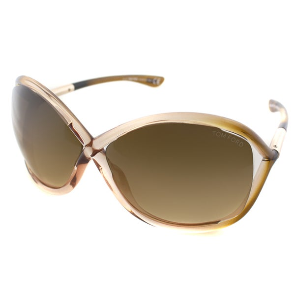 4241170498db Shop Tom Ford Women s  Whitney TF9-74F  Rose Butterfly Sunglasses ...