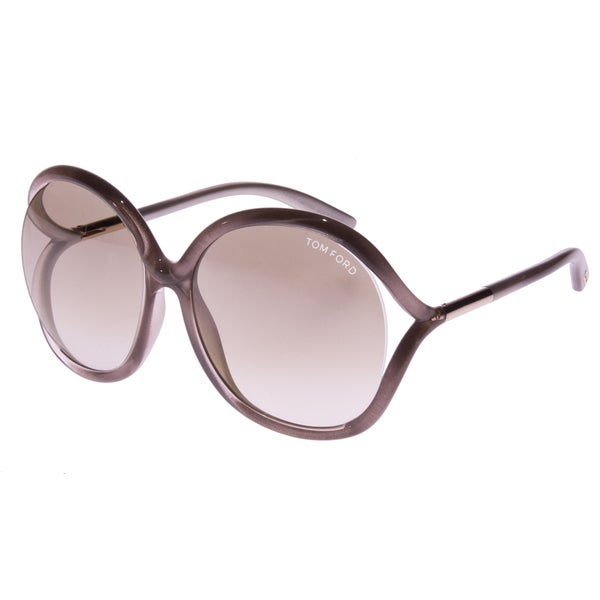 f1f96138114 Shop Tom Ford Unisex  Rhi FT0252 33G  Pink Round Sunglasses - Free Shipping  Today - Overstock.com - 9371003