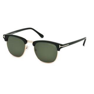 Tom Ford Unisex 'Henry TF248 05N' Aviator Sunglasses
