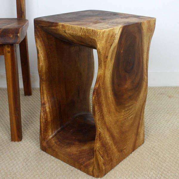 Handmade 12 X 20 Natural Walnut Oiled U0026#x27;Monkey Podu0026#x27;