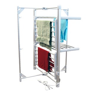 Link to Royal Elegance 2-layer Drying Rack and Warmer Similar Items in Storage & Organization