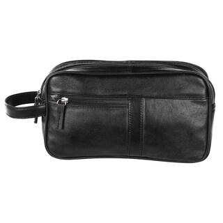 Bugatti Black Nappa Leather Travel Organizer